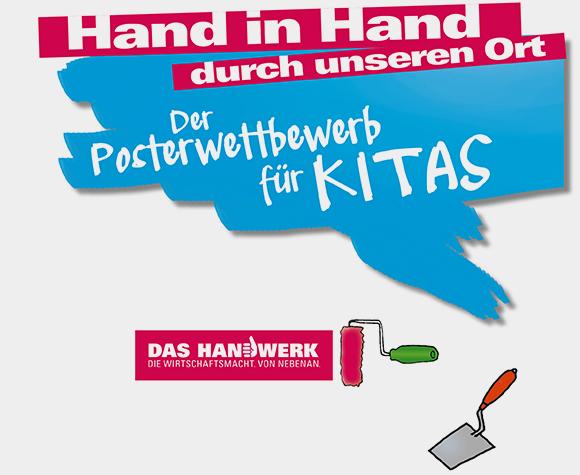 Hand in Hand durch unseren Ort - Der Posterwettbewerb für Kitas