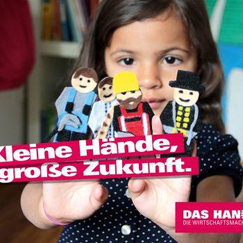 Ob Klempner, Bäcker, Maurer oder Schornsteinfeger: Das Handwerk bietet über 130 spannende Arbeitsfelder, die es zu entdecken gilt. (Quelle: www.amh-online.de)